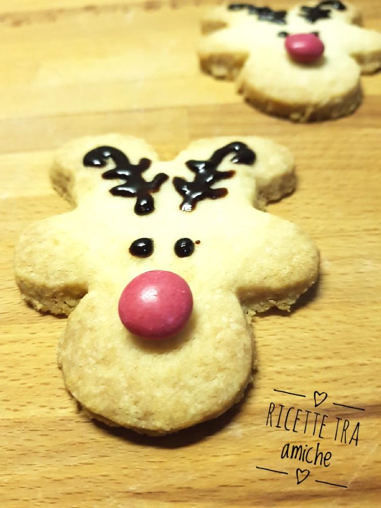 Renna biscotti di Natale 1