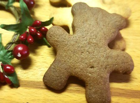 Biscotti miele cannella e zenzero