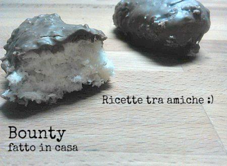 Bounty fatto in casa ricetta facile