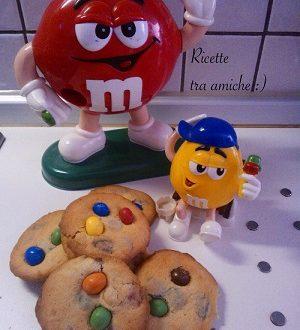 M&M's Cookies (biscotti americani)