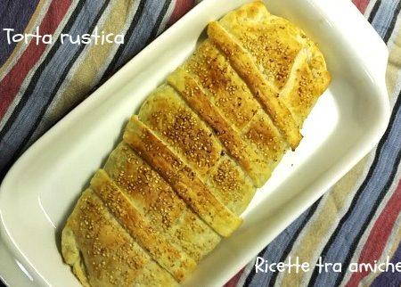 Torta rustica carciofi e formaggio pasta sfoglia