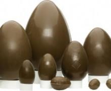 Uova di Pasqua vegane e fruttariane