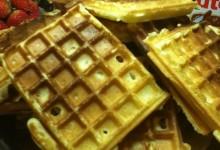Waffel croccanti con Nutella