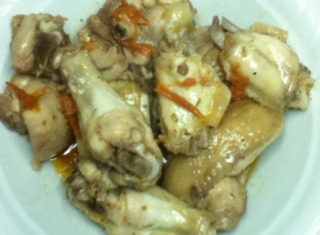 Pollo in potacchio