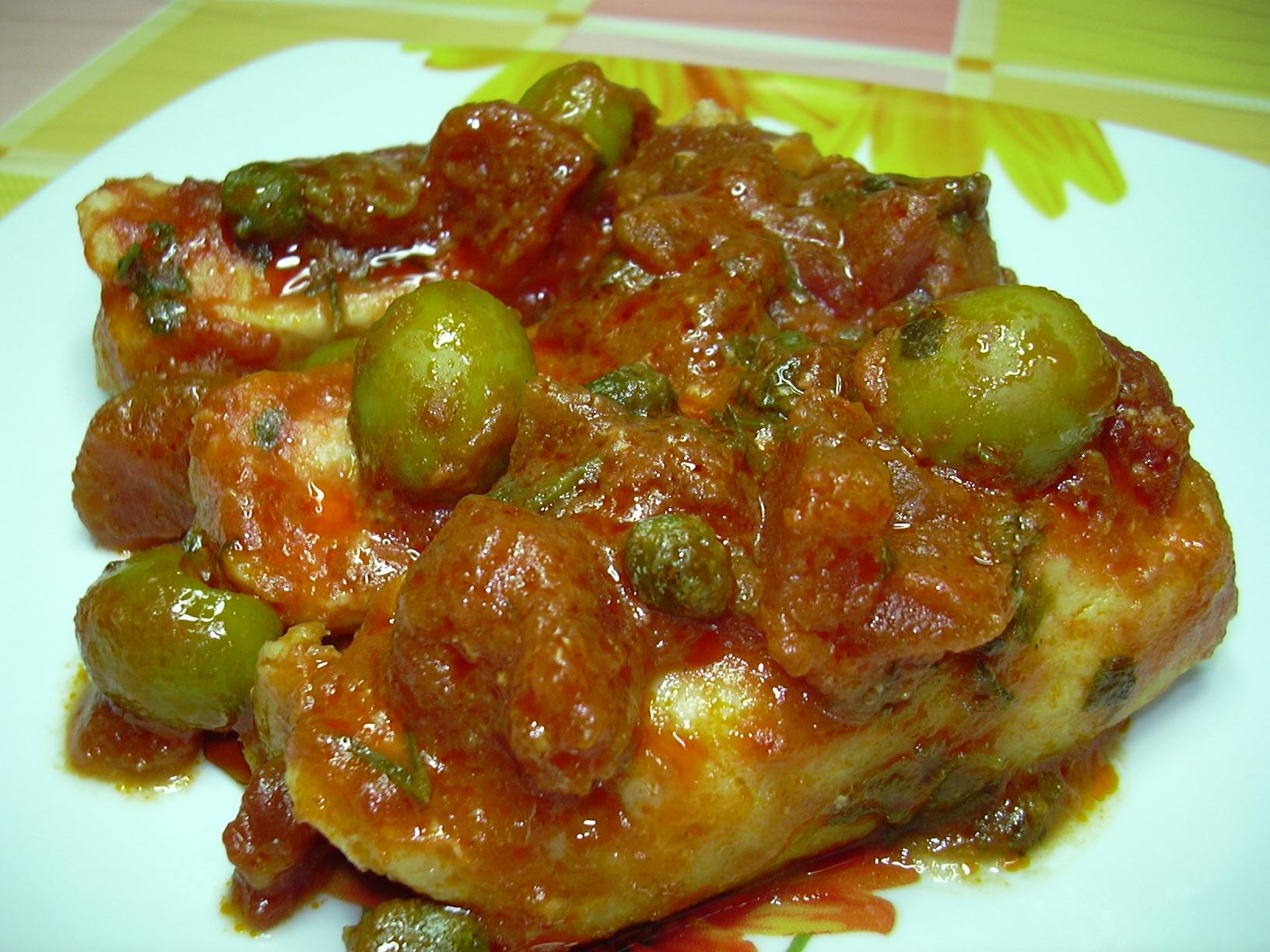filetti di merluzzo con capperi e olive verdi | ricette veloci di ... - Cucinare Filetto Di Merluzzo