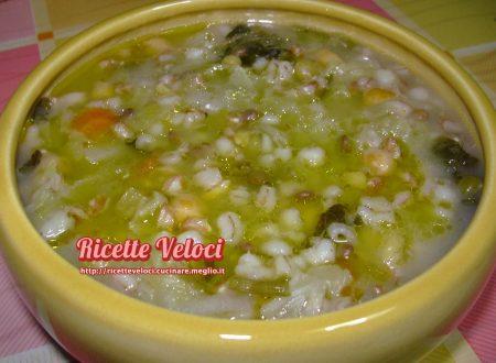 Zuppa Valentino con cavolo verza