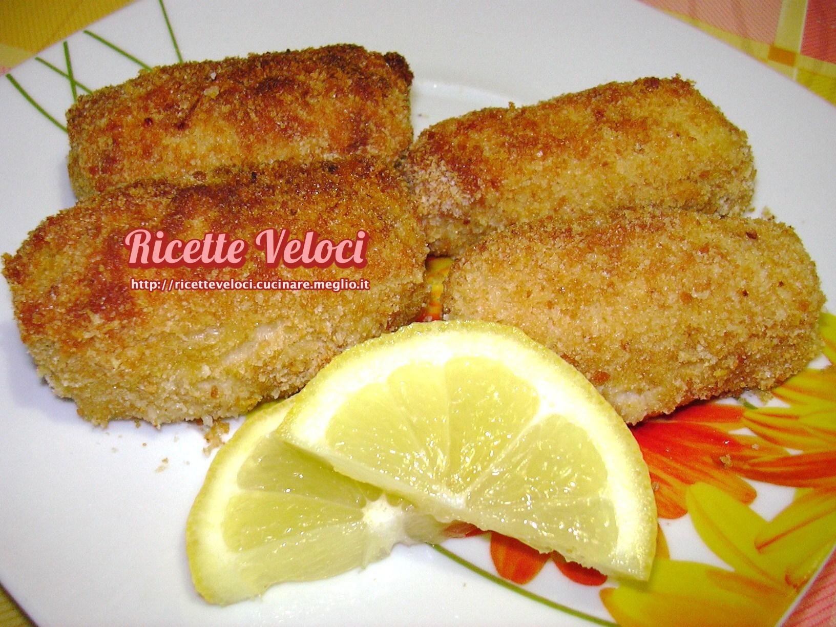 Filetti di nasello con panatura croccante al limone for Cucinare nasello