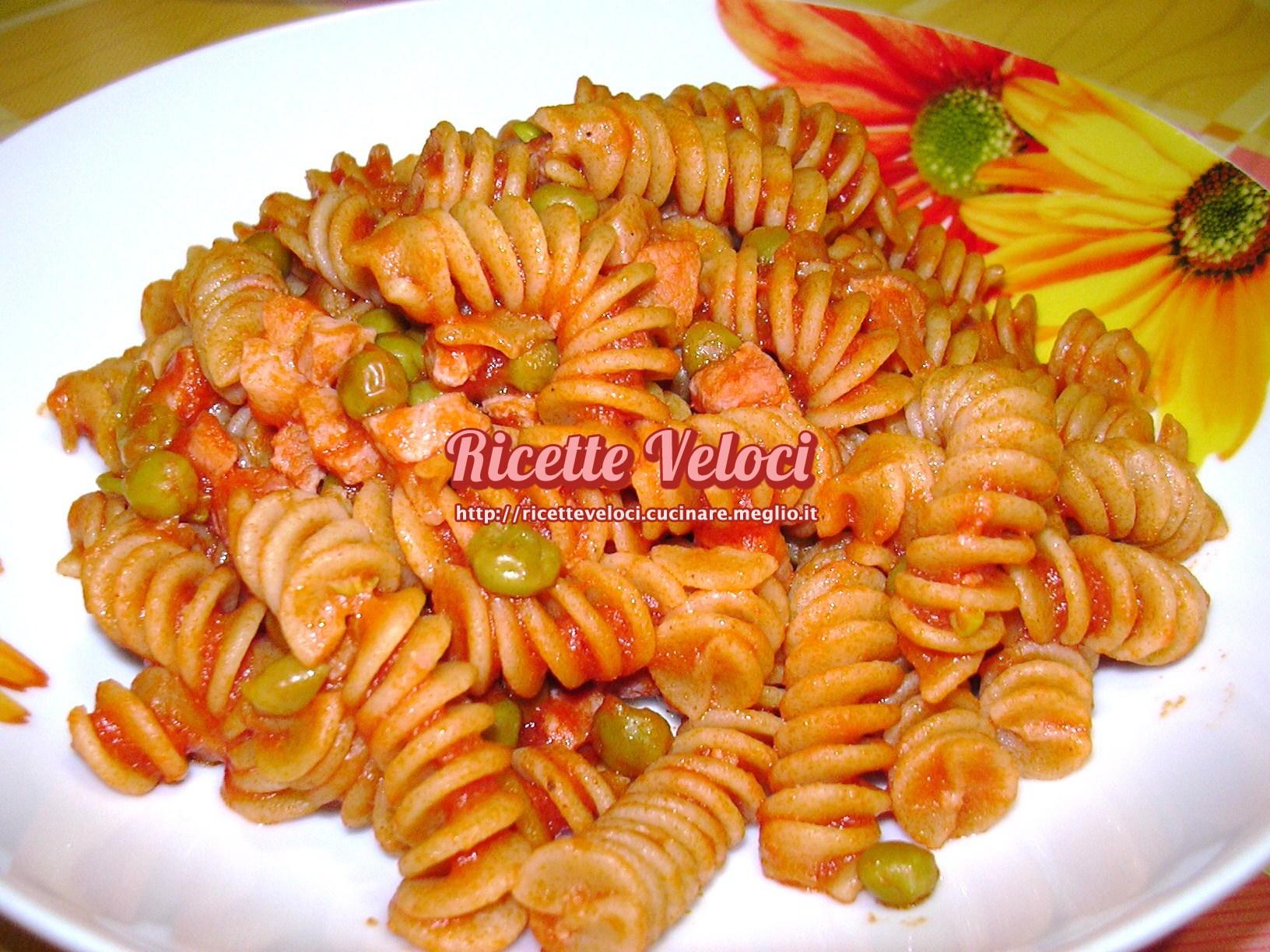 Ricette pasta con pancetta e sugo
