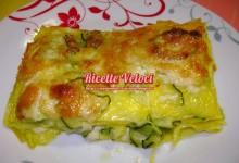 Lasagne bianche con zucchine e galbanino
