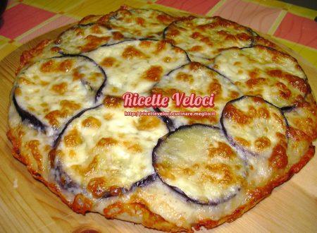 Pizza con melanzane e Galbanino
