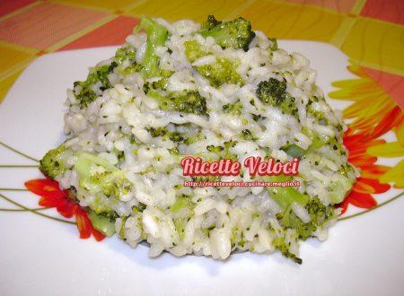 Risotto con alici e broccoletti