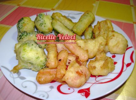 Frittura di verdure miste pastellate