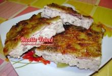 Tortino di pollo e patate