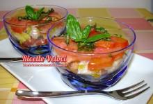 Antipasto di pomodoro e pane