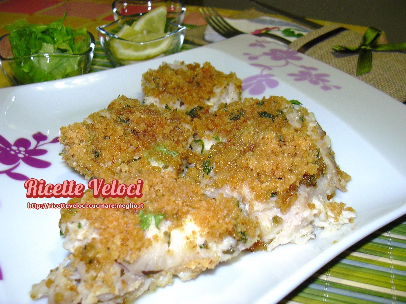 Pesce persico in padella
