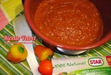 Sugo di peperoni e pomodori datterini