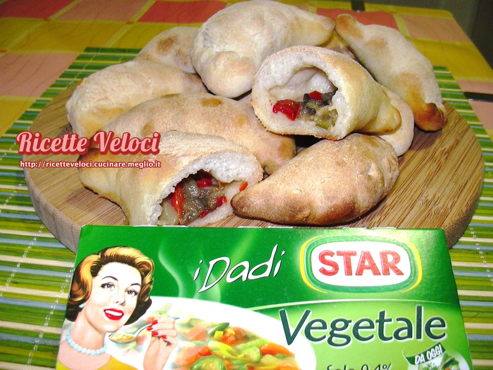 Panzerotti con verdure