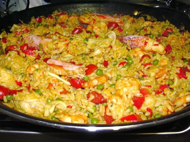 Paella di solo pesce ricetta
