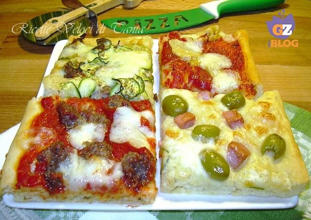 Pizza morbida farcita - Ricetta facile e veloce