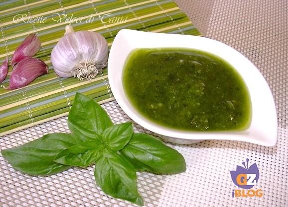 Pesto con basilico