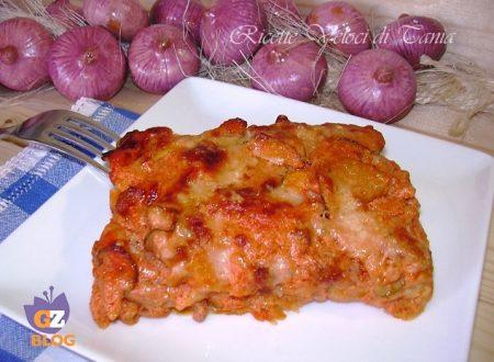 Lasagne velocissime con salsiccia