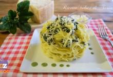 Caserecce con ricotta e spinaci