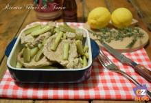 Filetto di maiale con zucchine