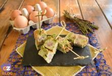 Frittata al forno con asparagi e salsiccia