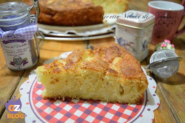 Torta soffice di mele e cannella