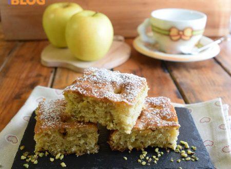 Torta con mele e pistacchi  ricetta veloce