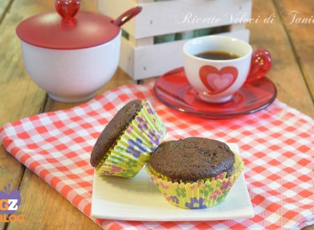 Muffin al cacao con mele