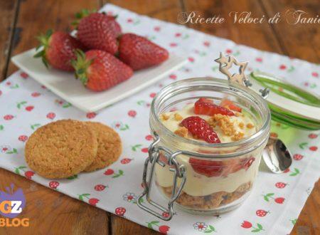 Dessert fragole e crema al mascarpone