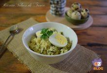 Cous cous con zucchine e uova di quaglia