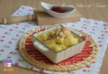 Gnocchi di patate con ricotta, pancetta e zafferano