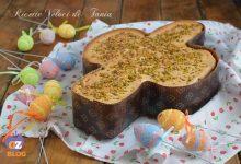 Torta colomba con cioccolato bianco e fragole