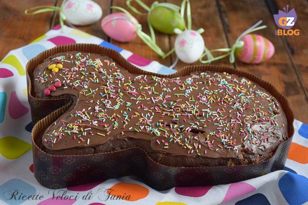 Torta pasquale soffice al cioccolato
