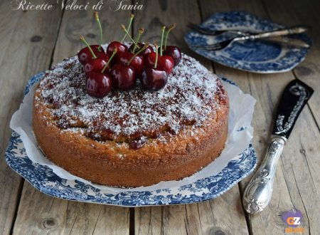 Torta ciliegie e cocco