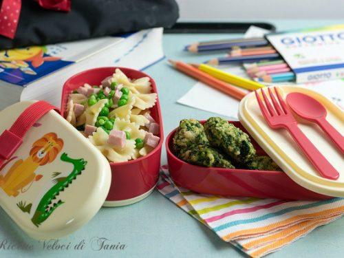 Pranzo a scuola – Mini menù