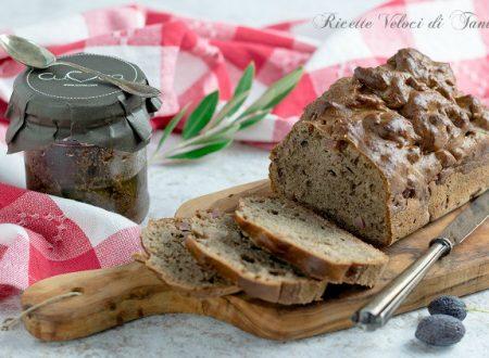 Plumcake con paté di olive taggiasche