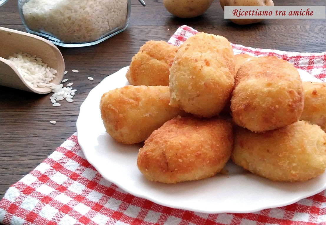 Supplì di riso e patate