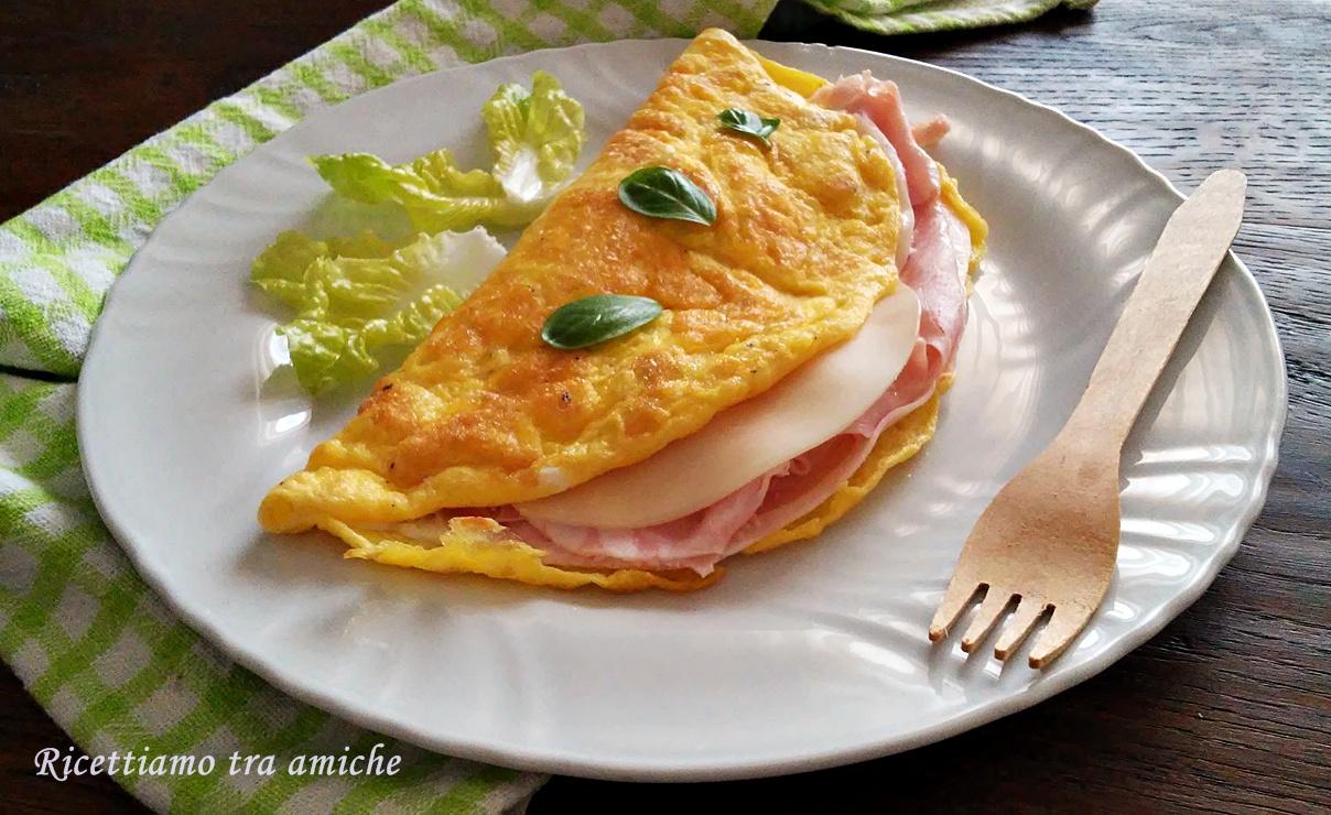 Omelette ripiene (ricetta veloce)