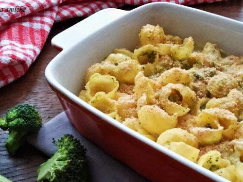 Pasta al forno con i broccoli