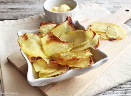 Chips di patate al forno