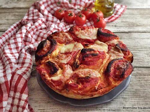 Torta di rose alla pizza