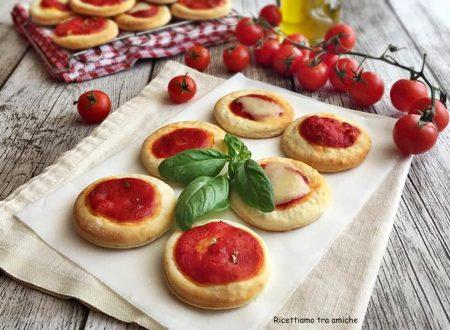 Pizzette senza lievitazione