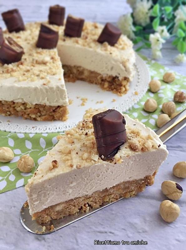 Cheesecake Alle Nocciole Ricetta Senza Cottura E Colla Di Pesce