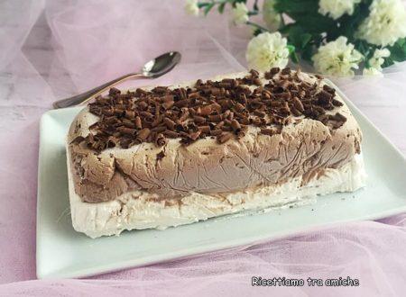 Semifreddo vaniglia e cioccolato