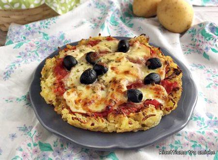 Rostipizza con prosciutto e olive