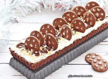 Crostata di biscotti al cioccolato