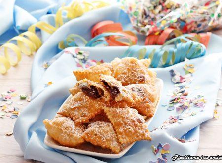 Ravioli di Carnevale alla nutella